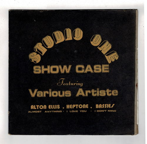 VARIOUS-studio one showcase  (silk screen cover)