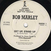 BOB MARLEY-get up stand up (one sided promo)