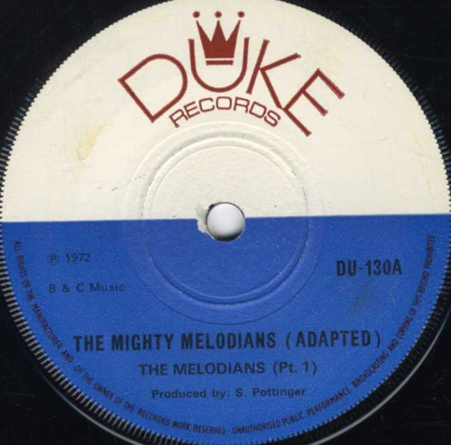 MELODIANS-the mighty melodians part 1