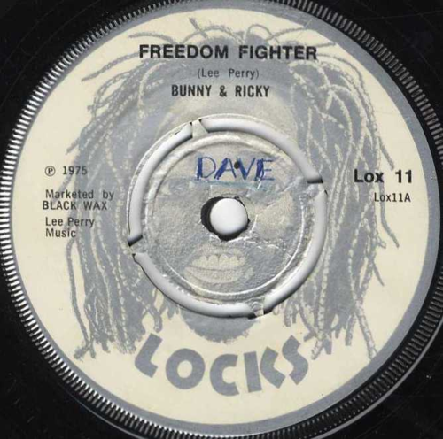BUNNY & RICKY-freedom fighter