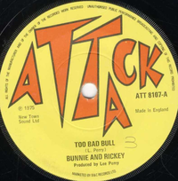 BUNNIE & RICKY-too bad bull