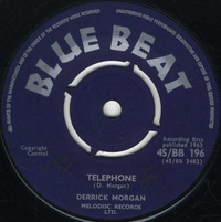 DERRICK MORGAN-telephone