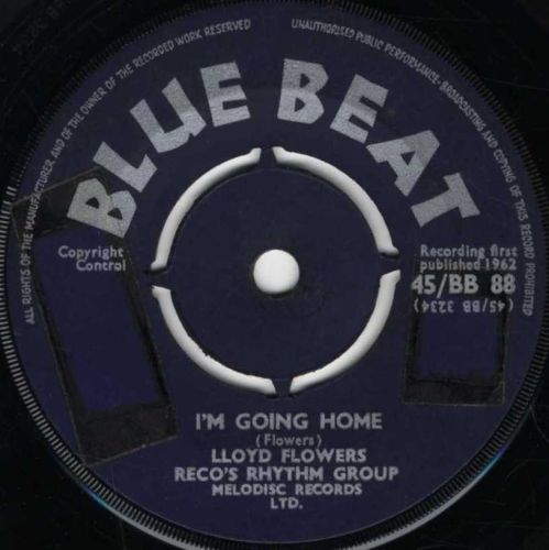 LLOYD FLOWERS-i'm going home