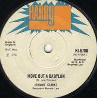 JOHNNIE CLARKE-move out a babylon
