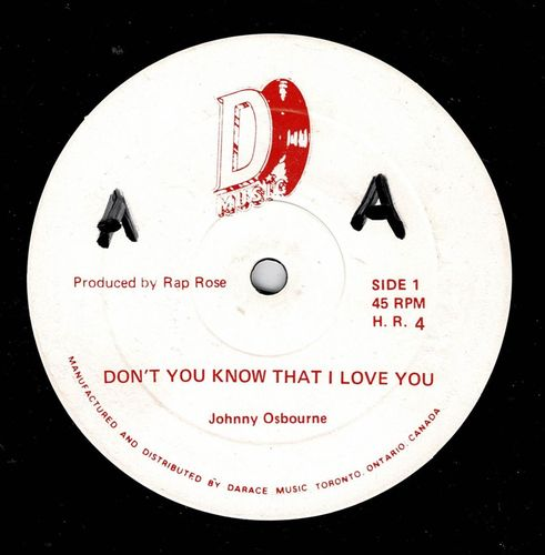 JOHNNY OSBOURNE-don't you know that i love you