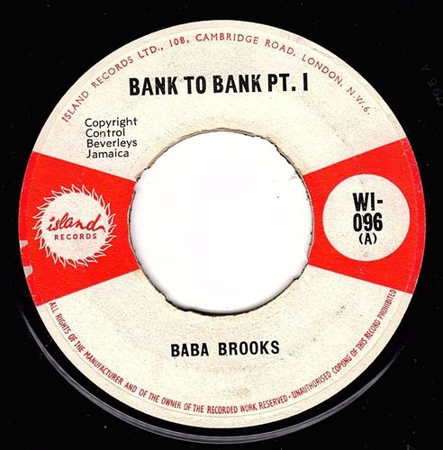 BABA BROOKS-bank to bank