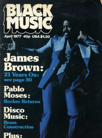 BLACK MUSIC  april 1977