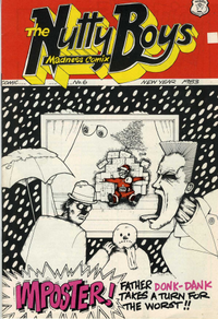 MADNESS - mis 6 comic - imposter!
