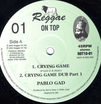 PABLO GAD-crying game