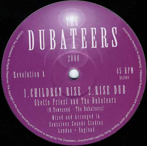 GHETTO PRIEST & DUBATEERS-children rise