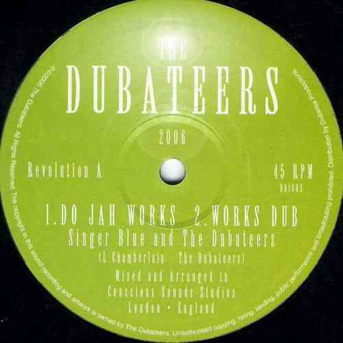 SINGER BLUE & DUBATEERS-do jah works