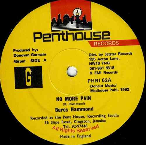 BERES HAMMOND-no more pain