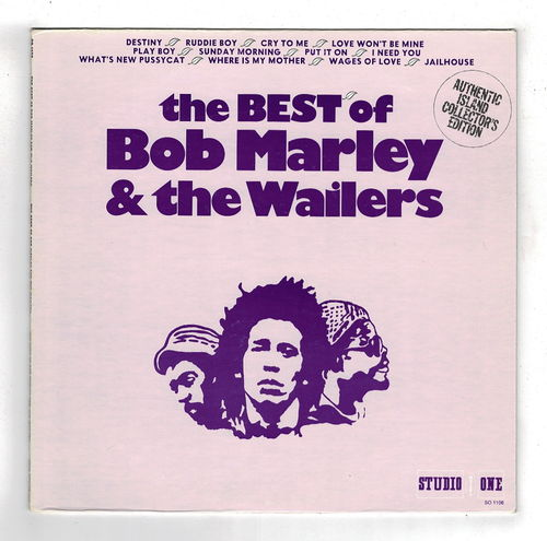 BOB MARLEY-the best of BOB MARLEY & the WAILERS