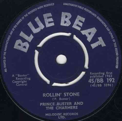 PRINCE BUSTER-rollin' stone