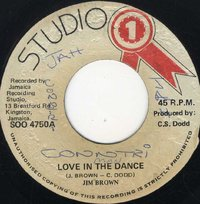 JIM BROWN-love in the dance
