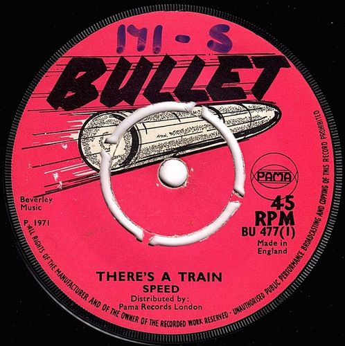 SPEED-there's a train