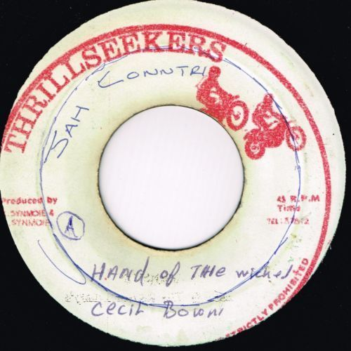CECIL BROWN-hand of the wicked