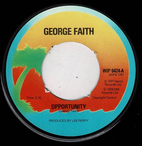 GEORGE FAITH-opportunity