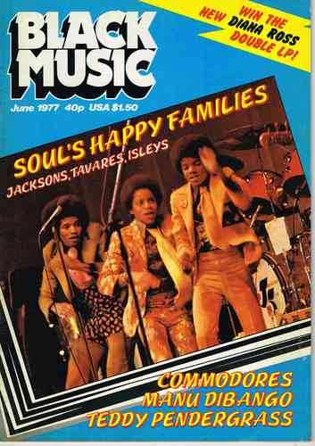 BLACK MUSIC June 1977