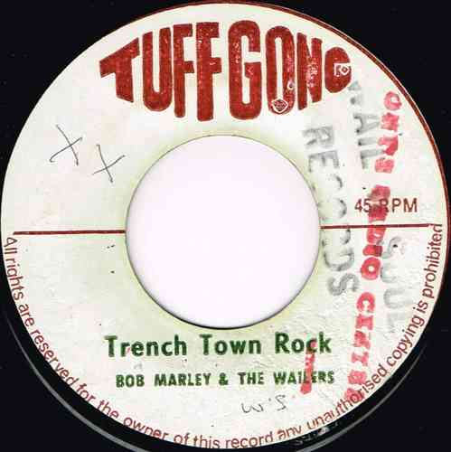 BOB MARLEY & WAILERS-trench town rock