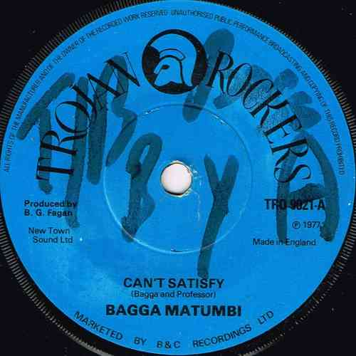 BAGGA MATUMBI-can't satisfy