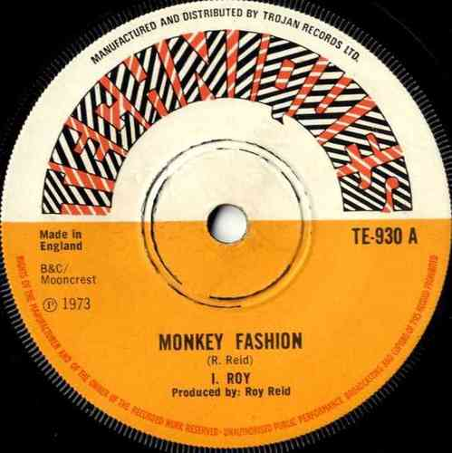 I ROY-monkey fashion