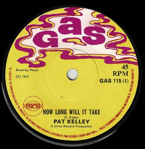 PAT KELLY-how long will it take