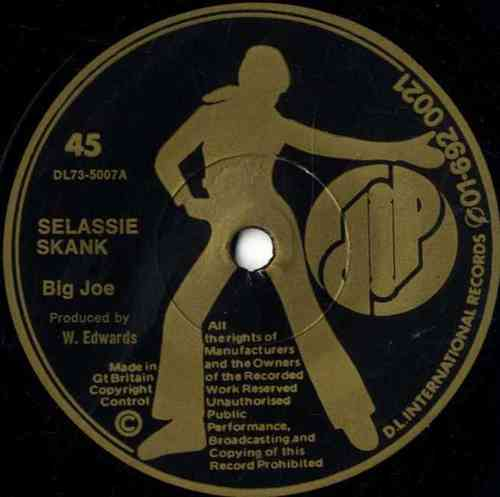 BIG JOE-selassie skank