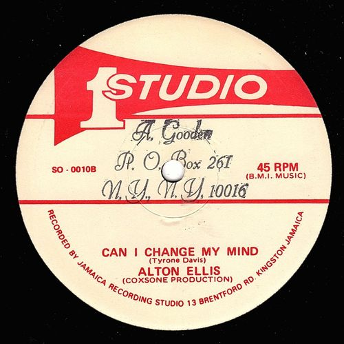 ALTON ELLIS-can i change my mind
