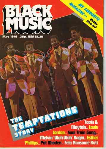 BLACK MUSIC may 1976