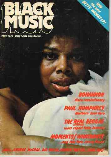 BLACK MUSIC may 1975