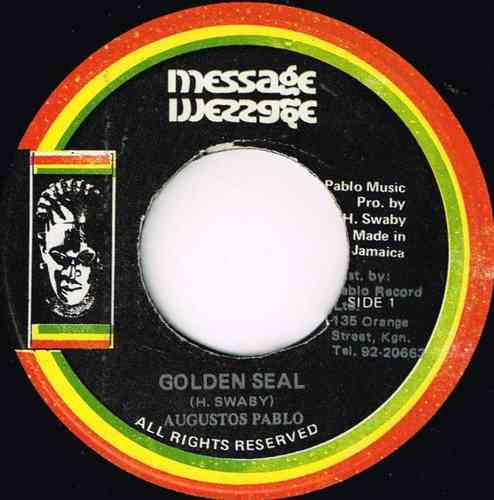 AUGUSTUS PABLO-golden seal