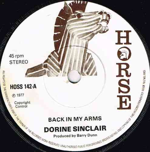 DORINE SINCLAIR-back in your arms