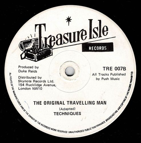 TECHNIQUES-the original travelling man