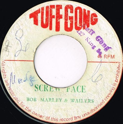BOB MARLEY & WAILERS-screw face
