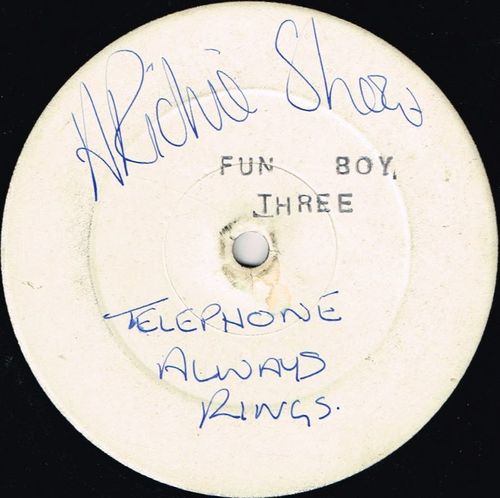 FUN BOY THREE-the telephone always rings (white label)