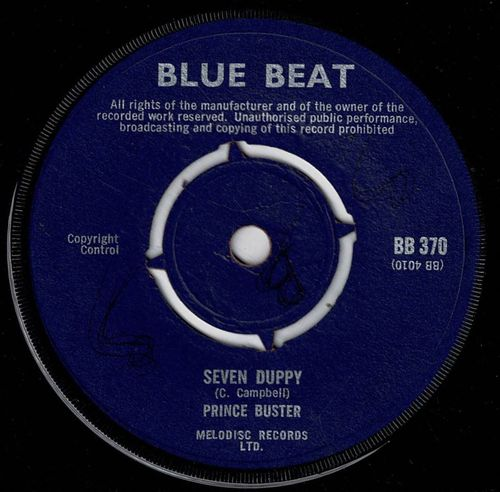 PRINCE BUSTER ALL STARS-seven duppy