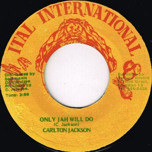 CARLTON JACKSON-only jah will do