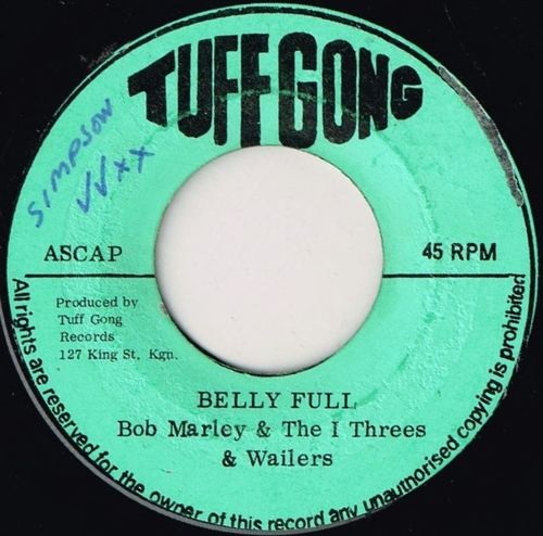 BOB MARLEY & WAILERS-belly full