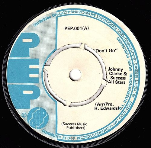 JOHNNY CLARKE-don't go