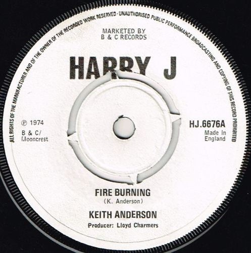 BOB ANDY-fire burning
