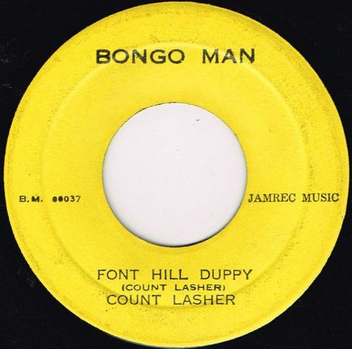 COUNT LASHER-font hill duppy