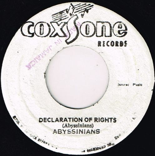 ABYSSINIANS-declaration of rights