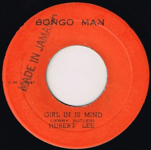HUBERT LEE-girl in is mind