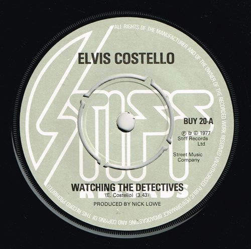 ELVIS COSTELLO-watching the detectives