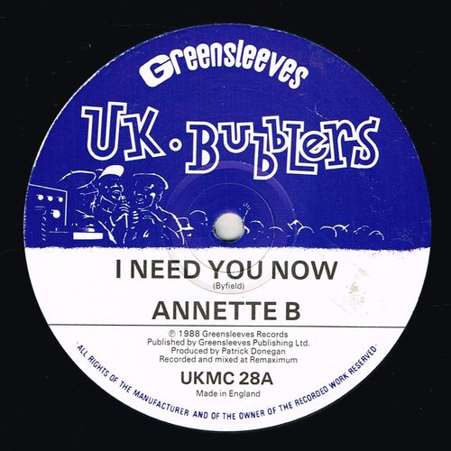 ANNETTE B-i need you now