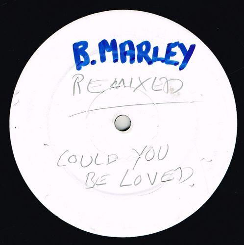 BOB MARLEY-could you be loved (remix) (single sided)