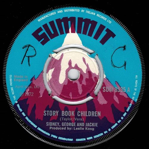 SIDNEY GEORGE & JACKIE-story book children