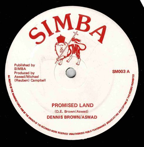 DENNIS BROWN-promised land