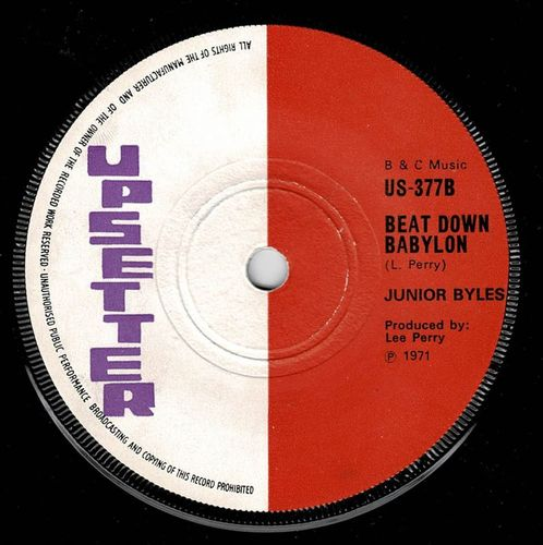 JUNIOR BYLES-beat down babylon